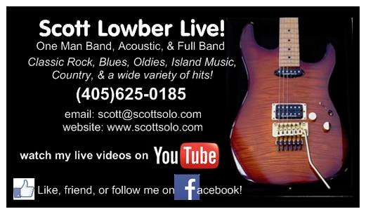 Scott Lowber Solo Web Site